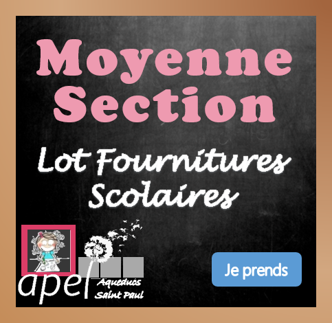 Lot Fournitures Moyenne Section