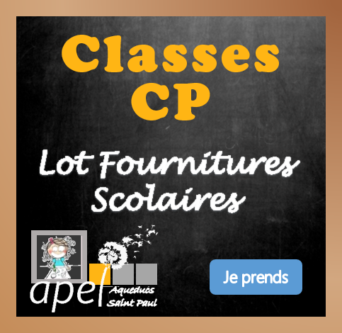 Lot Fournitures Scolaires Ecole CP